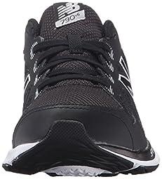 New Balance KJ790V6 Youth Running Shoe (Little Kid/Big Kid), Black/White, 4 M US Big Kid