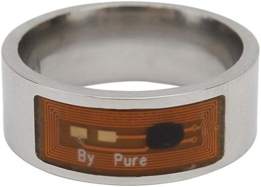 YJYdada NFC Multifunctional Waterproof Intelligent Ring Smart Wear Finger Digital Ring F