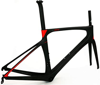 Nfudishpu Cuadro de Bicicleta Fibra de Carbono Roto Viento Estante ...
