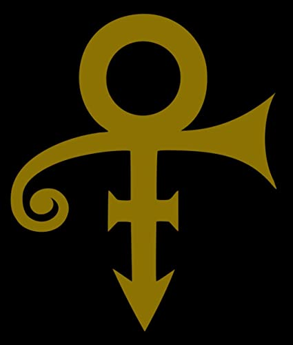 Prince Symbol Logo Vinyl Decal Sticker Car Truck Window Phone Tablet Laptop