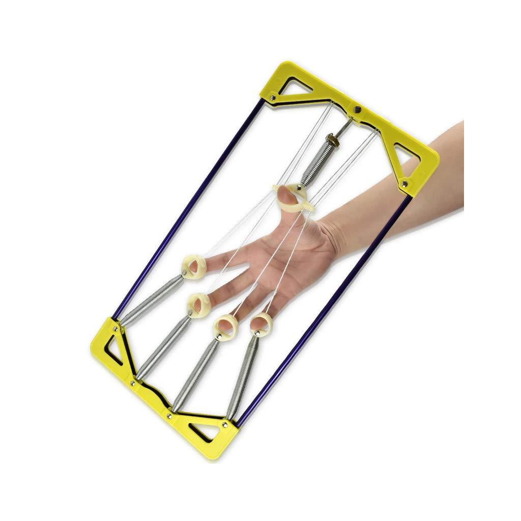 JXLBB 35Kg Grip Can Adjust The Guzheng Professional Children's Finger Piano Training Finger Force Fitness Men and Women Rubber Ball Ring Finger Force Trainer Guitar Guzheng Finger Strength Trainer