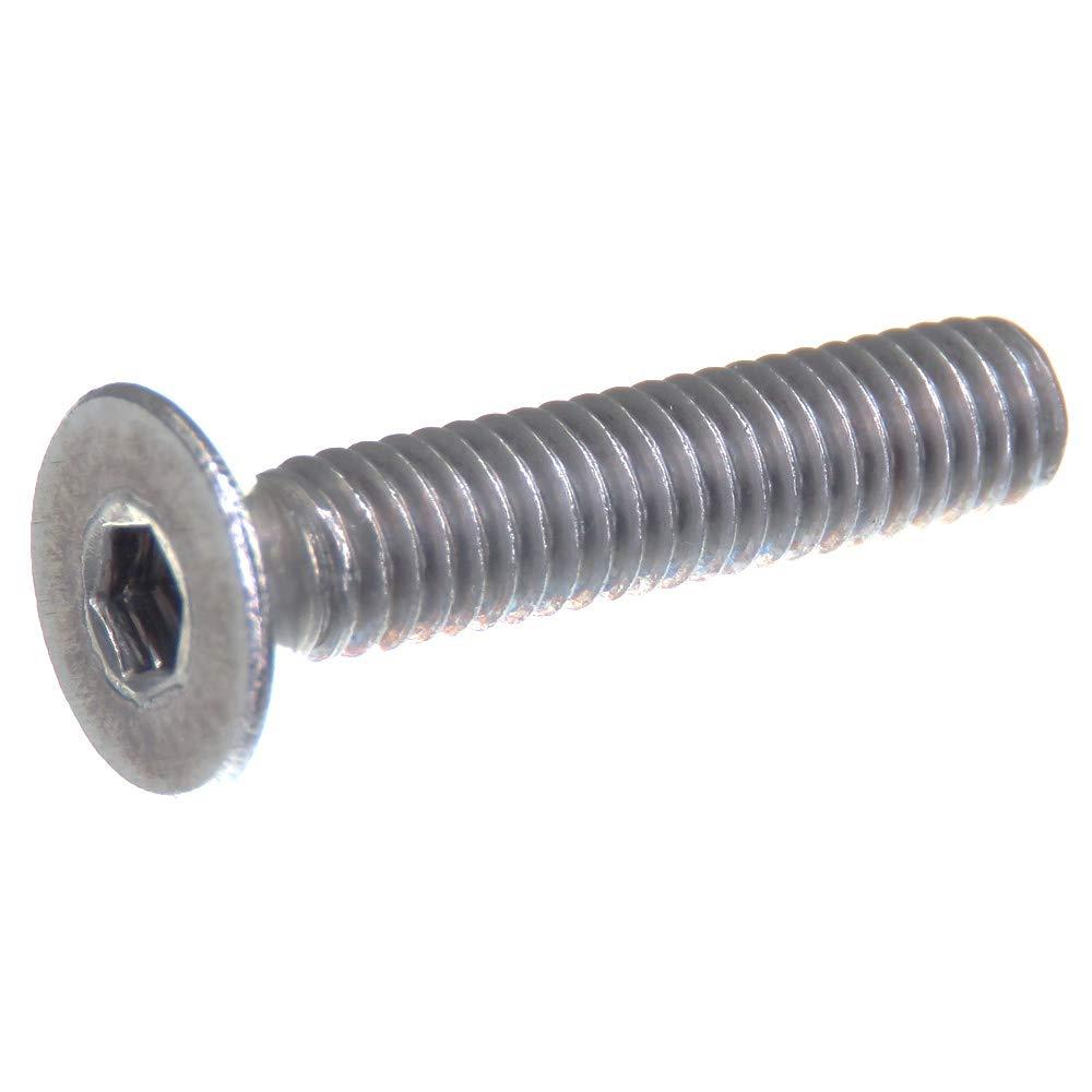 DIN 7991 // ISO 10642 20 pi/èces six pans creux acier inoxydable V2A VA A2 Vis /à t/ête frais/ée SECCARO M4 x 20 mm