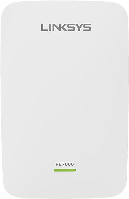 Linksys RE7000-EU - Extensor de Red Wi-Fi AC1900+ MAX-Stream (MU-MIMO, itinerancia Continua, Puerto Gigabit, Doble Banda, Cross-Band, beamforming), ...