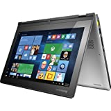 Lenovo Yoga 2 11.6-Inch 2-in-1 Convertible HD Touchscreen Premium Laptop (Intel i3 Dual-Core Processor, 4GB RAM, 500GB 8GB SSHD, Windows 10) Light Silver