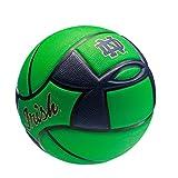 Notre Dame Fighting Irish Spongetech Basketball, Green, Official