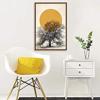 Lovely Expertise, Premium Product, Framed Home Artwork Nordic Style Mo for Living Room Bedroom