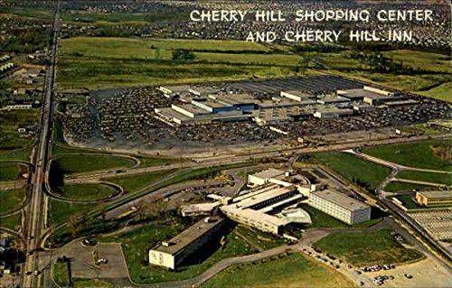 Cherry Hill Shopping Center And Cherry Hill Inn Cherry Hill, New Jersey Original Vintage - Shopping Center Cherry Hills