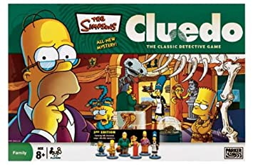 New simpsons cluedo 3rd edition: amazon. Co. Uk: toys & games.