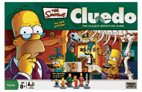 Simpsons cluedo 3rd edition: amazon. Co. Uk: toys & games.
