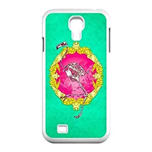 Generic for Samsung Galaxy S4 9500 Cell Phone Case White Flamingo Custom 3678