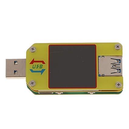 UM34C perfk Mini Detector USB Port/átil Voltaje Medidor De Corriente Probador De Bater/ía LCD Para Android Nuevo