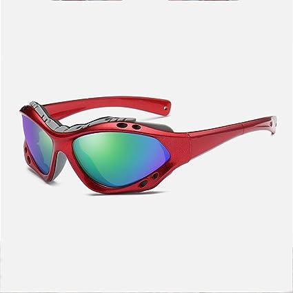 SEEKSUNG® Mar ksung® Gafas de sol polarizadas al aire libre Reitsport de espejo de