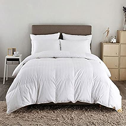 57f18055b350 Luxury White Goose 100% Pure Hungarian Goose Down Duvet Quilt by CosySleep®  Double, 13.5 TOG: Amazon.co.uk: Kitchen & Home