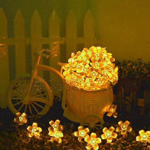 Huston Lowell 7M Solar String Lights 50 LED Cherry Blossom Decorative Christmas (Lowell 3 Light)