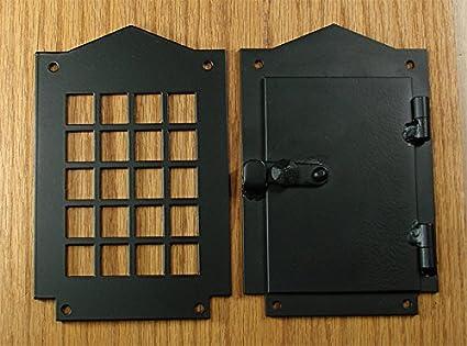 Charmant Iron Door Speakeasy Grille, Door Viewer, Rustic Hardware, Craftsman Style