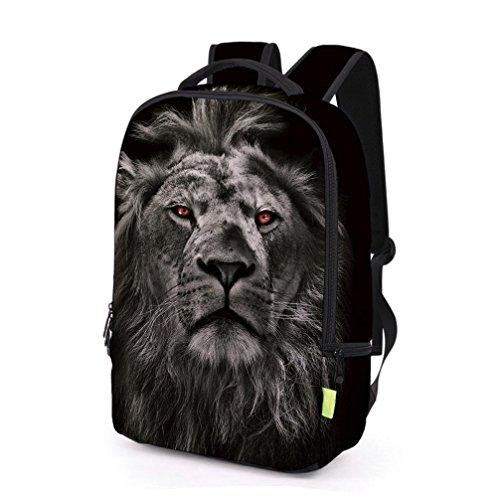 2017 Morwind Las mujeres de los hombres 3D Galaxy Viaje mochila mochila hombro bolsa Bookbag School Bag(A) (E) A