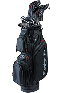 Amazon.com : Cobra Mens 2018 F-Max Complete Set Black-Gold ...