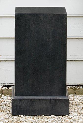 Campania International PD-170-TN Classic Pedestal, Tall, Terra Nera Finish by Campania International