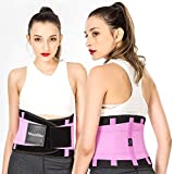 Waist Trainer Belt - Waist Back - for Lower Back Pain Support Braces for Lumbar Belt Body Shaper...
