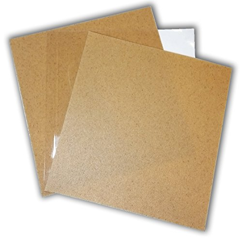 """New Heat Moldable Plastic Sheets 3 Thermoplastic Sheets 8/"""" x 12/"""" Crafts Reusable"""