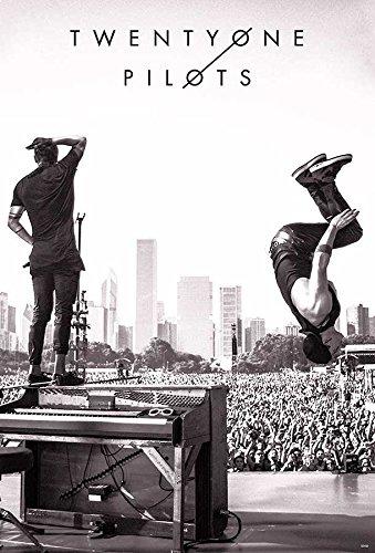 TWENTY ØNE PILØTS @ Lollapalooza 2015 Music Poster Size 24