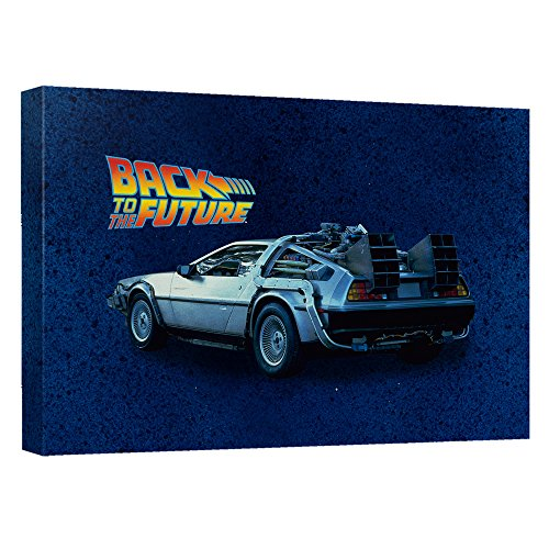 買取 delorean back to the future stretched canvas framed
