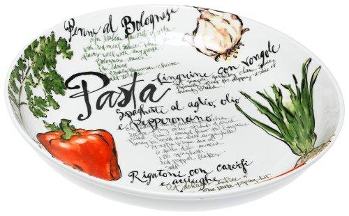 large individual pasta bowls - 4