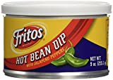Fritos Hot Bean Dip With Jalapeno Peppers 9 oz. (Pack of 3)