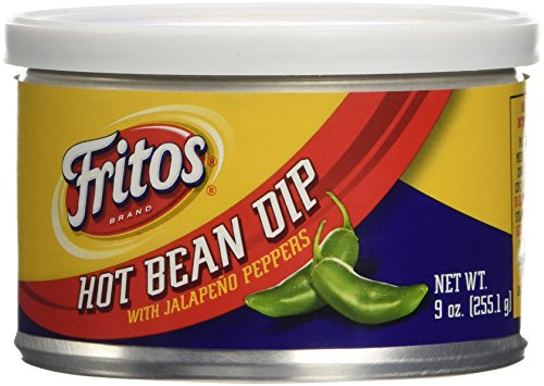 Bean Dip Fritos - Fritos Hot Bean Dip With Jalapeno Peppers 9 oz. (Pack of 3)
