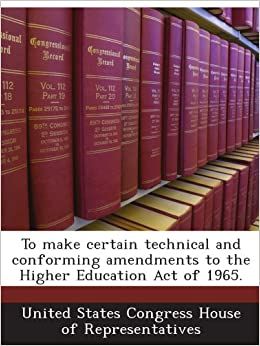 higher education act of 1965 text