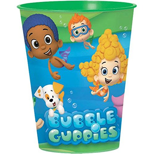 Bubble Guppies Plastic Drink or Favor -