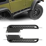 Jeep Wrangler TJ Side Steps Nerf Bars Rocker Guard Sliders Running Boards for 1997 1998 1999 2000 2001 2002 2003 2004 2005 2006 Jeep Wrangler & Unlimited