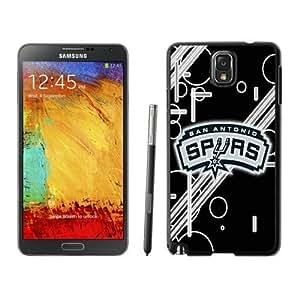 New Custom Design Cover Case For Samsung Galaxy Note 3 N900A N900V N900P N900T San Antonio Spurs 12 Black Phone Case