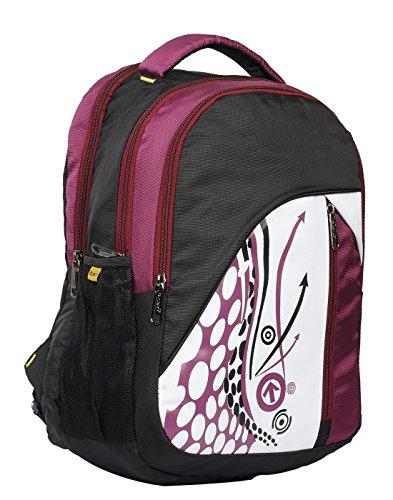 Blowzy Bags Canvas Purple Waterproof School Bag for Boys