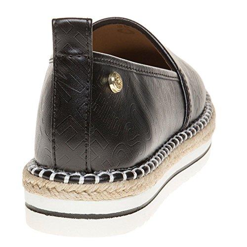 Love Moschino Espadrille Slip On Femme Chaussures Noir