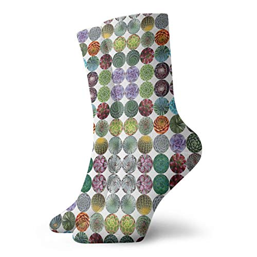 HUSJHD Interesting Socks Hot Magenta Chevron Giftwrap (8208) Women Girl Novelty]()