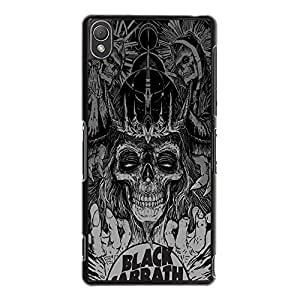 Sony Xperia Z3 Case,Black Sabbath Phone Case British Band Style Custom Personalized Black Sabbath Case Cover