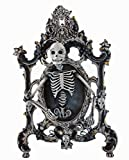 Skeleton Creature Crawling Out Of Picture Frame Display Halloween Katherine's