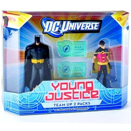 DC Universe Young Justice Batman And Robin Figure 2-Pack