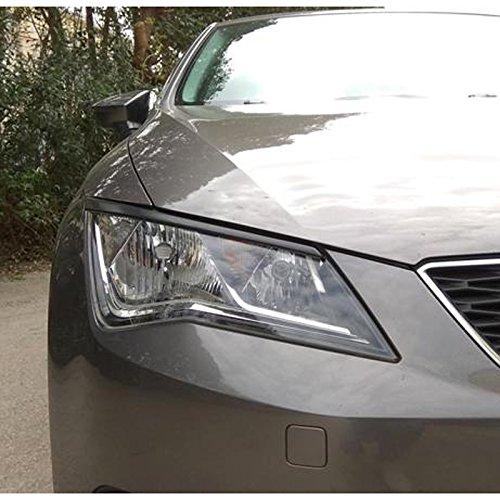 ABS ST 2013- Motordrome FR.00.0149 Head Light Spoilers Seat Leon 5F 3//5-doors incl
