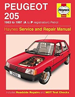 Peugeot 205 gti essential buyers guide series amazon jon peugeot 205 petrol 83 97 haynes repair manual haynes service and repair fandeluxe Image collections
