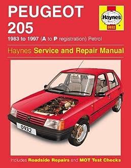 peugeot 205 petrol 83 97 haynes repair manual haynes service rh amazon co uk Peugeot 205 Group B Peugeot 208