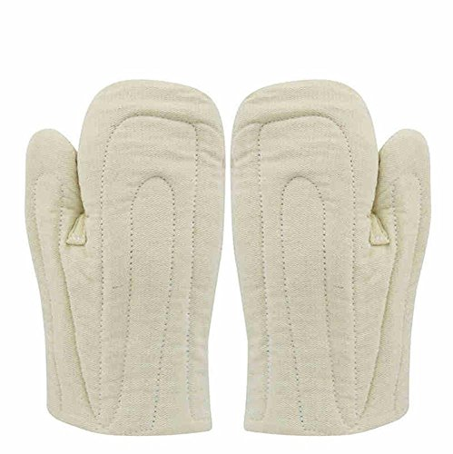 High Temperature Gloves Industrial Smelting Boilers Kitchen Ovens Microwave Baking Insulation Worker Protection Thicker Protective Supplies