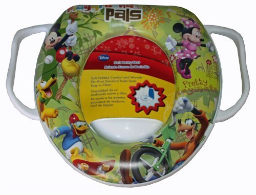 Disney Mickey Mouse Minnie Mouse Donald Duck Goofy Pluto Baby Soft Potty Seat