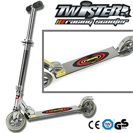 Californian Products Scooter Plegable Roller Twister Ruedas ...