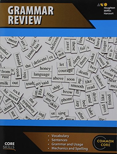 Steck-Vaughn Core Skills Grammar Review: Workbook  Grades 6-8 by STECK-VAUGHN