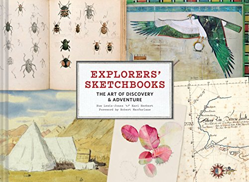 Explorers' Sketchbooks: The Art of Discovery & Adventure cover