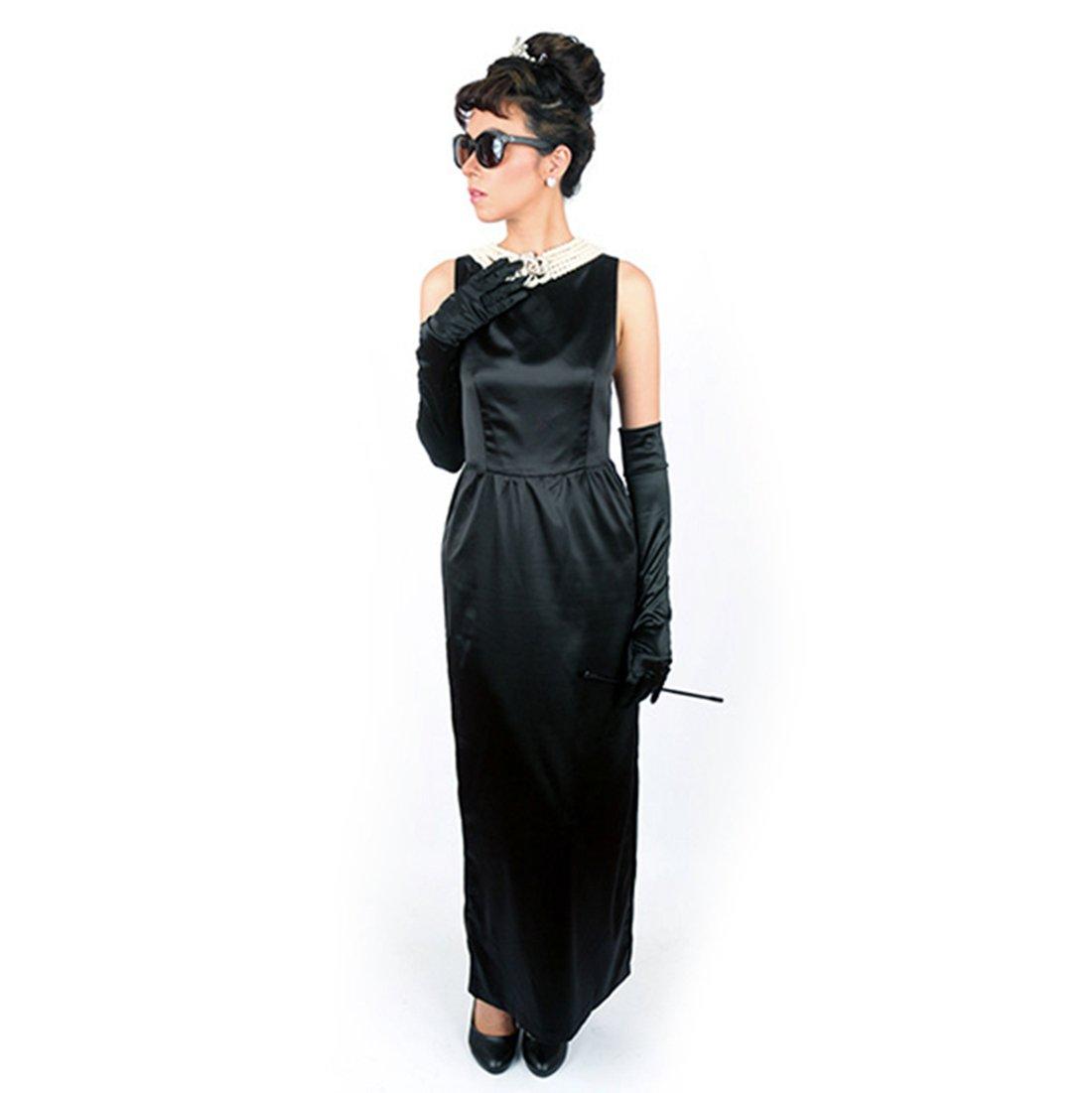 Audrey Hepburn ''Breakfast at Tiffany's'' Complete Costume Set - Satin Version (S) w/Gift Box by Utopiat (Image #2)