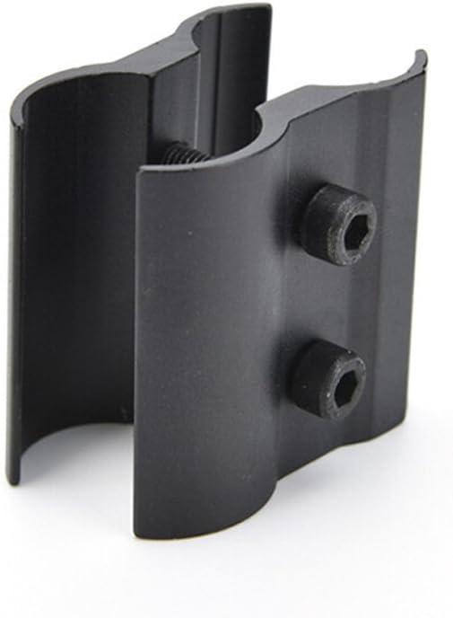 L/áser de Alcance Soporte de Anillo de Barril con Perno Llave para Caza Pistola Linterna Sdkmah9 Linterna de Montaje en Aleaci/ón de Aluminio QQ Soporte de Barril Linterna