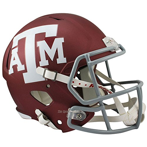 Texas A&M Aggies Officially Licensed NCAA Speed Full Size Replica Football Helmet by Riddell